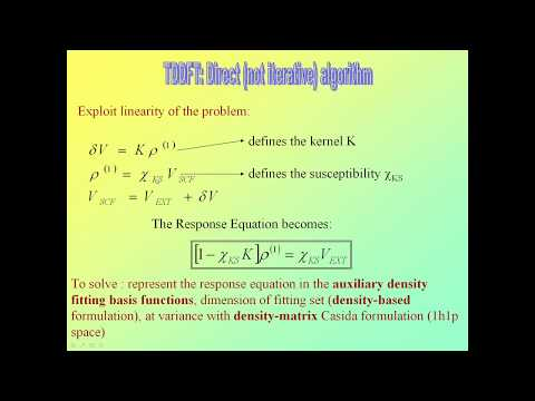 Calculating UV/VIS and X-ray Absorption spectra with ADF, web presentation by Mauro Stener