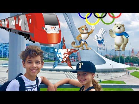 Sochi 2017 | едем в Сочи на Ласточке из Краснодара