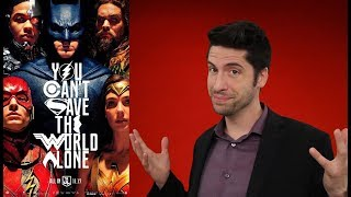 connectYoutube - Justice League - Movie Review