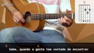Sei - Nando Reis (aula de violão)