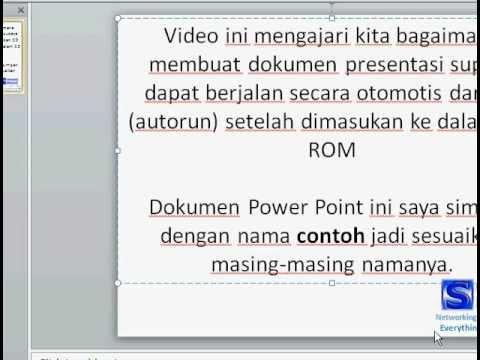 Visual digital presentation embedding youtube videos in.