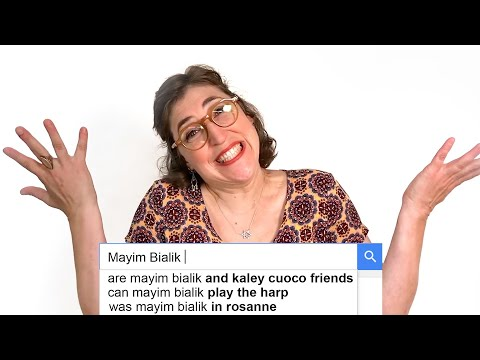 Mayim Bialik Answers the Web's Most Searched Questions | WIRED