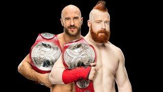 Sheamus WWE RAW Smackdown Live Tag Team Championship Match Player