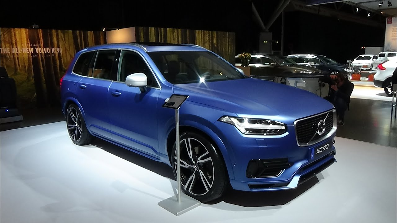 2015 volvo xc90 t8 r design exterior and interior auto show autorai amsterdam 2015 youtube. Black Bedroom Furniture Sets. Home Design Ideas