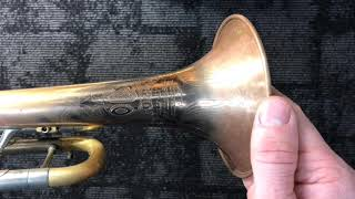 Overview of Olds Recording Trumpet Restoration