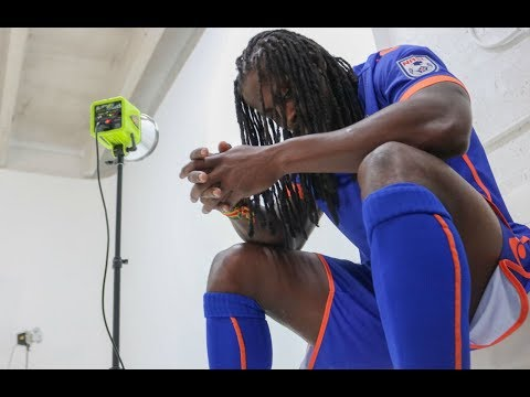 Behind The Scenes     Miami FC Photo Shoot With Lovel Palmer