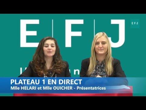 Vidéo teaser d'étudiants de l'EFJ en situation de direct TV !