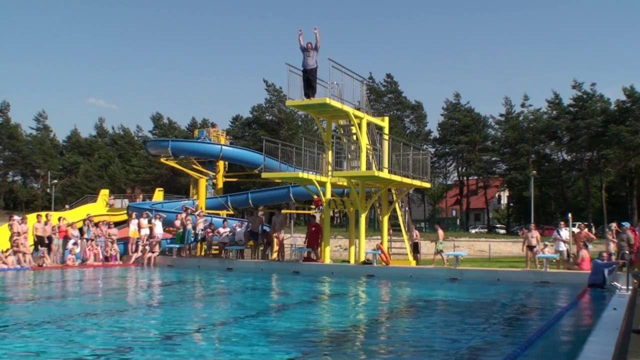 Symboliczne otwarcie nowego basenu w Bukownie  YouTube