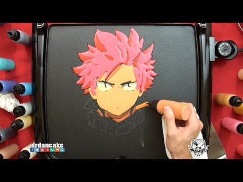 Natsu (Fairy Tail) Pancake Art