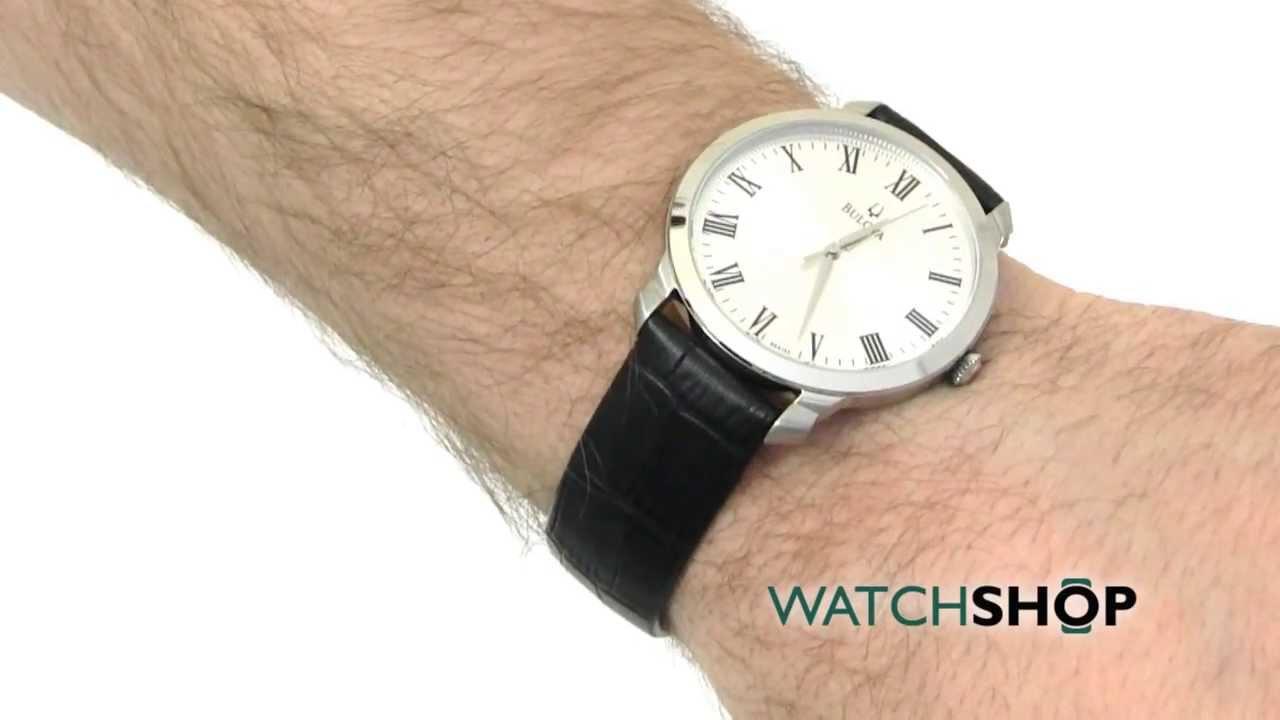 a10e2cf89 Men's Bulova Dress Watch (96A133) - YouTube