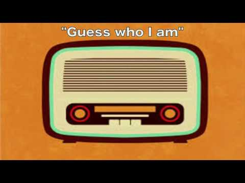 "Radio Programme ""Guess Who I Am ?"""