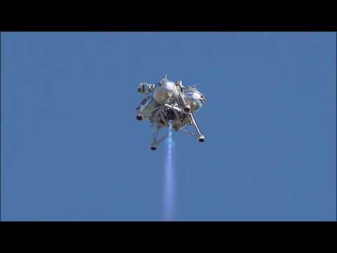 Morpheus Lander Flies Again on 'Green' Fuel   Video