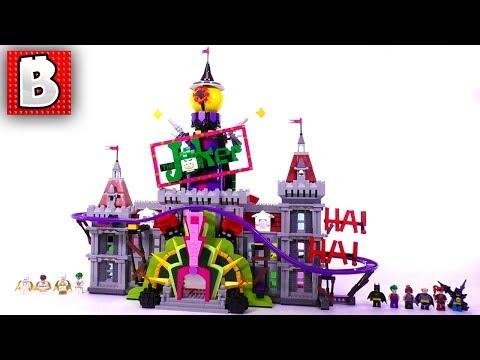 LEGO The Joker Manor Biggest Batman Set Ever!!! 70922 | Unbox Build Time Lapse Review