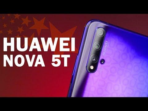 Обзор Huawei Nova 5T - а не встречались ли мы раньше?
