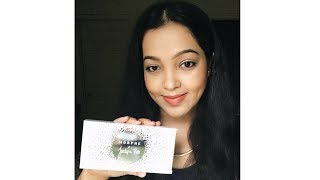Morphe x Jacklyn Hill Palette Review,Swatches & Eyemakeup Look