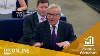 Jean-Claude Juncker kritisiert die geringe Anwesenheit der Abgeordneten im Parlament