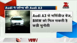 Audi's A3 Sedan Launched In India