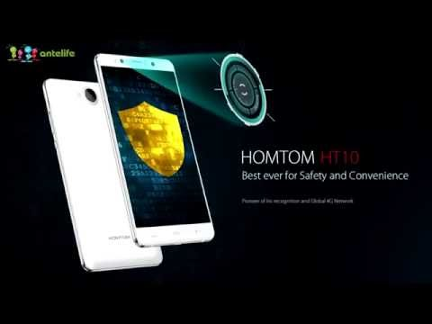 Homtom HT10 the iris recognition unlock speed testing!