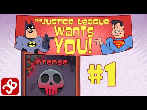 Teeny Titans Justice League - INTENSE CHALLENGE - iOS / Android - Gameplay Video Part 1