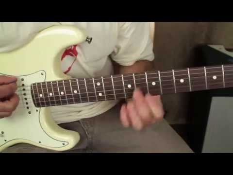 Learn Stevie Ray Style Blues Chords