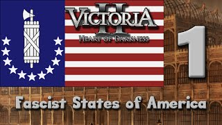 In this short victoria 2 playthrough, we'll explore an alt-history world where usa is split into three entities. the fascist nations of and free states o...