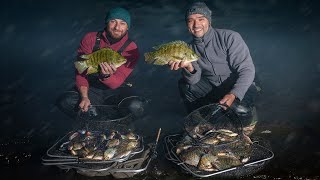 Рыбалка на Озере ЗИМОЙ Первый лед ОТМЕНЯЕТСЯ Ловим Тиляпию или Пиранью