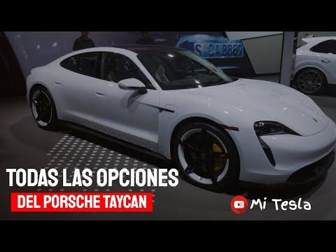 Porsche Taycan 2020 impresiones de este hermoso auto eléctrico