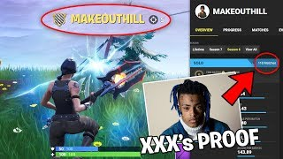 XXXTentacion's Fortnite Account was ONLINE..