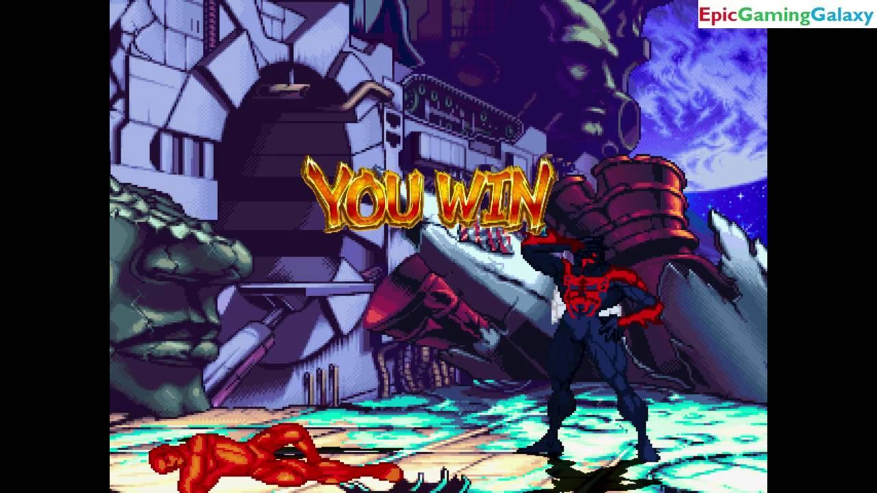 firelord vs spider man 2099 the superhero in a marvel vs dc mugen