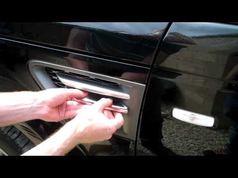 How To Fit Chrome Side Vent Covers To Range Rover Sport 2010