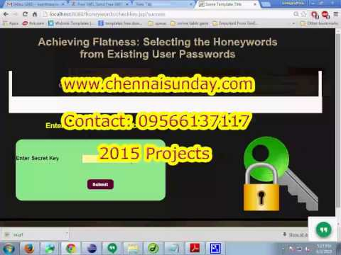 Achieving Flatness Selecting the Honey words from Existing User Passwords