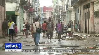 Cuba tries to recover after Hurricane Irma hits northern coast