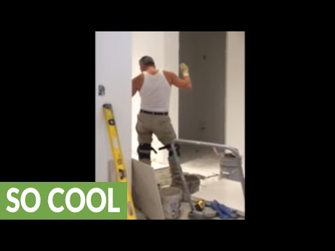 Tilesetter caught dancing like nobody's watching!