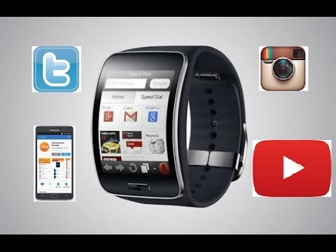 In-depth Review Best Apps Samsung Gear S Smart watch Including TWITTER! 2015