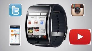 in depth review best apps samsung gear s smart watch including twitter 2015
