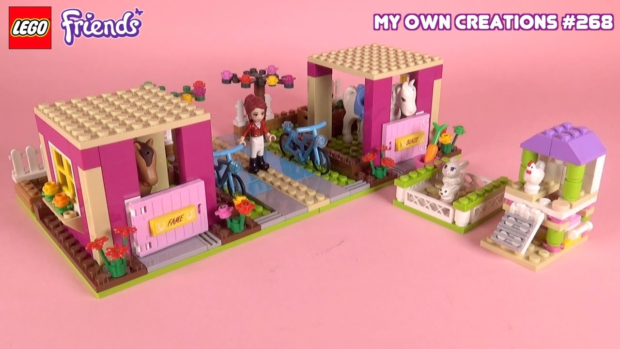 Ranch 004 Lego Friends Custom Creations For Kids 268 Youtube