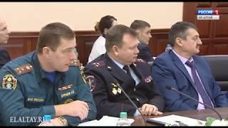 Александр Бердников провел совещание по подготовке и проведению выборов Президента России