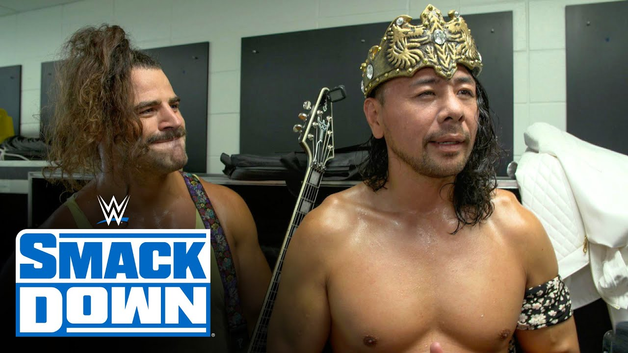 King Nakamura has gold on his mind: SmackDown Exclusive, July 30, 2021