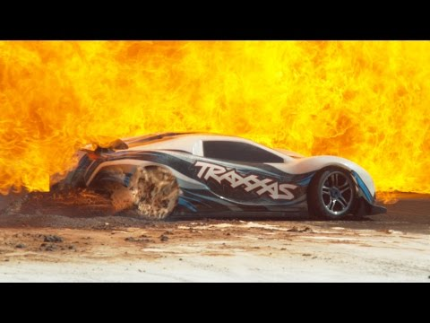 100mph RC Car in Slow Motion - 4K - The Slow Mo Guys