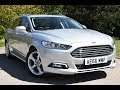 Used Ford Mondeo 2.0 TDCi Titanium 5dr Moondust Silver 2016 Estate
