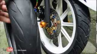 Vee Rubber Tire Review (for Scooters) [Tagalog]