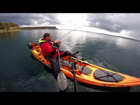 UK Scotland Kayak Fishing Thurso August 2017