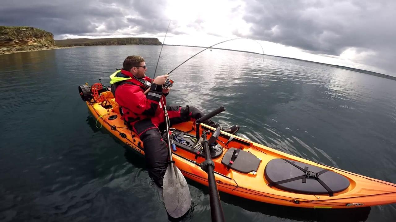 Uk scotland kayak fishing thurso august 2017 youtube for 2017 fishing kayaks