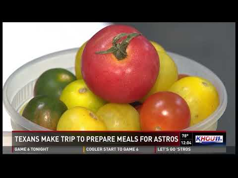 Texas catering company prepares meals for World Series