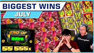 Top 10 BIGGEST WINS of July 2021
