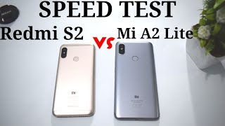 Mi A2 Lite vs Redmi S2 | Speed Test Comparison [Urdu/Hindi]