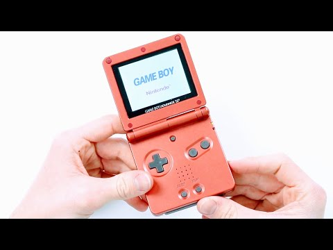 Fake/Clone GameBoy Advance SP AGS-101!