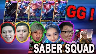 Download Video TEAM YOUTUBER PAKE SEMUA SKIN EPIC S.A.B.E.R ! MICHAEL SOUW LANGSUNG MANIAC !! MP3 3GP MP4