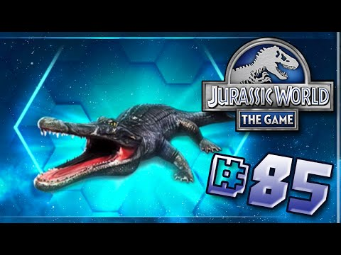 Super Sneaky Night Time Episode! || Jurassic World - The Game - Ep 85 HD