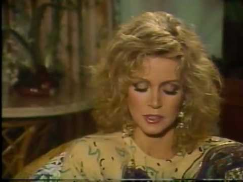 "Donna Mills featured on ""Cover Story"" in 1987"